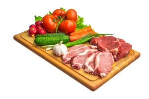 Meat vs Veges