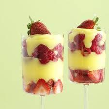 Custard Banana and Berries